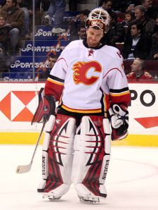 The Flames didn't really upgrade their team in the offseason, so goaltending is key for them this season