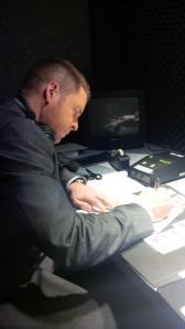Ward preparing hard to fill-in for Ferraro. (credit: @GMillerTSN)