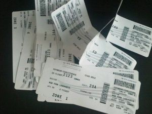 The plane tickets and boarding passed began to accumulate like the snow by mid-morning